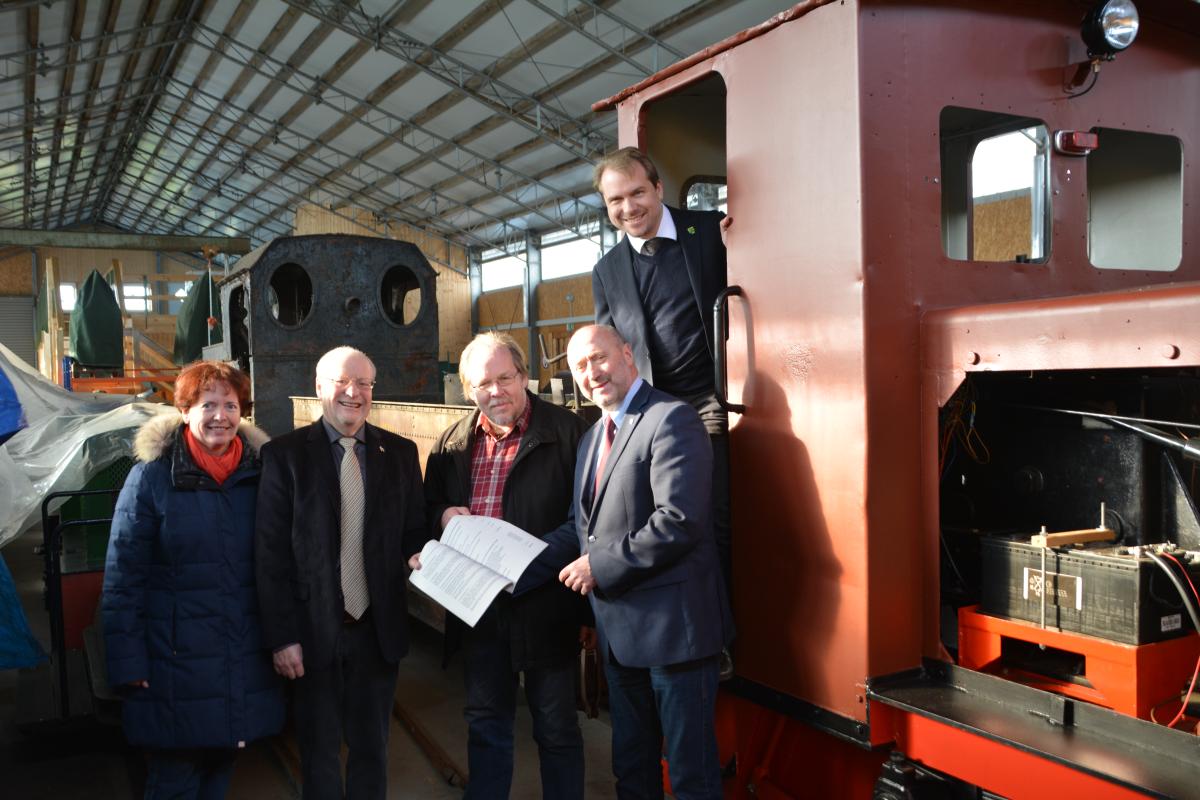 Feld- und Werksbahnmuseum erhält Zuwendung des Landschaftsverbandes