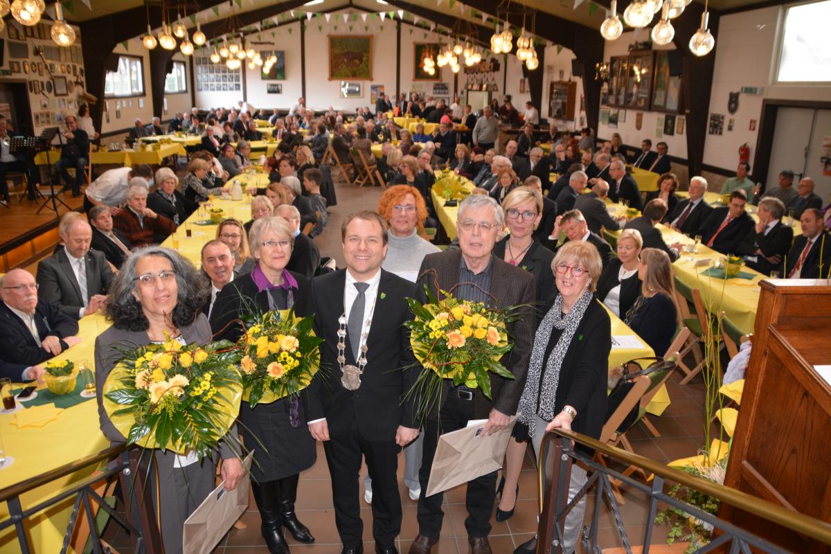 Volles Haus beim Neujahrsempfang der Gemeinde Rommerskirchen