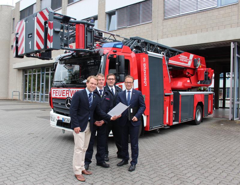 Feuerwehr - Kooperation zwischen Neuss und Rommerskirchen