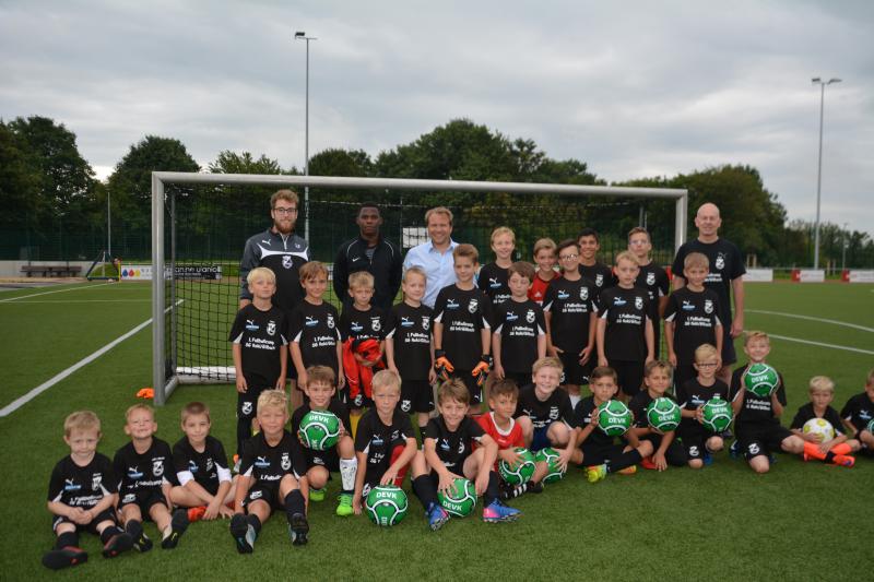 1. Fußballcamp der SG Rommerskirchen gestartet