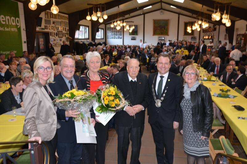Großer Besucherandrang bei Neujahrsempfang der Gemeinde Rommerskirchen