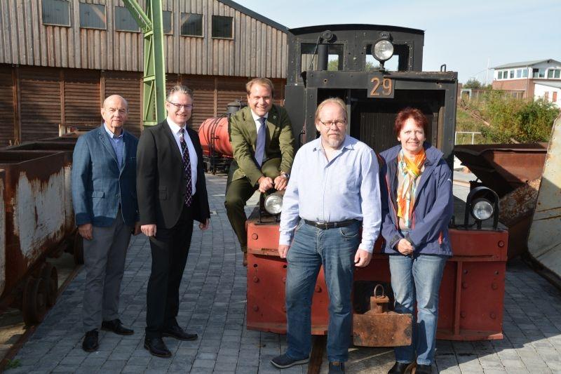 VR Bank unterstützt Feld- und Werksbahnmuseum