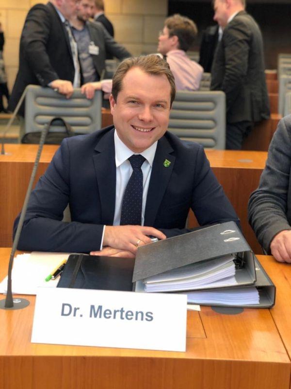 Bürgermeister Dr. Mertens stellt Forderungen zur Bewältigung des Strukturwandels