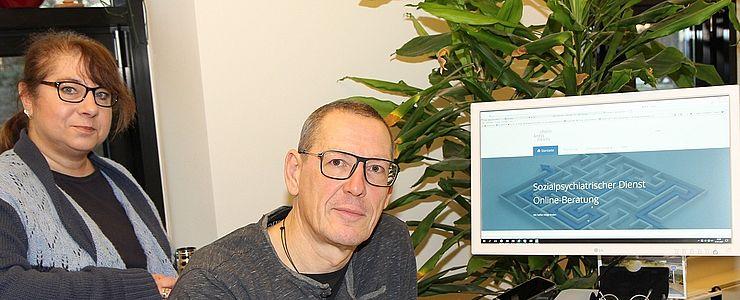 In Zeiten von Kontaktsperren und sozialer Distanz: Beratung des Sozialpsychiatrischen Dienstes auch online möglich